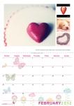 Double A4 Calendar Design 001