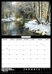 Double A4 Calendar Design 002