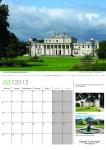 Double A4 Calendar Design 006