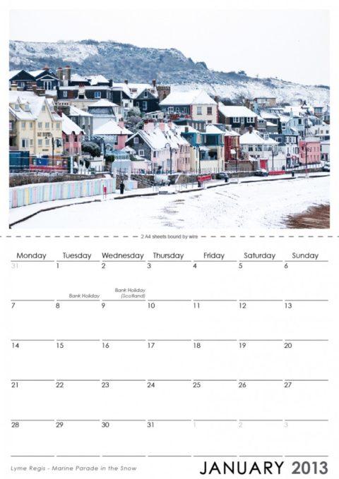 Lyme Regis Calendar