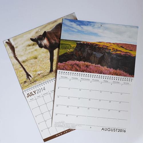 Double A4 Calendar