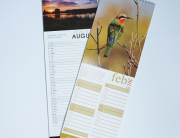 Slimline Calendar